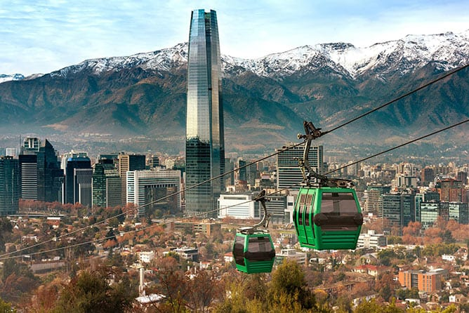 Day-2—Cable-car-in-San-Cristobal-hill,-overlooking-a-panoramic-view-of-Santiago—iStock-1055655978