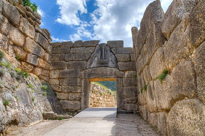 Day-9—Lion-Gate,-Mycenae,-Greece—iStock-494762853