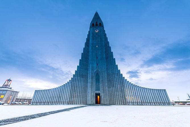 Incredible-Iceland_Day-2_Hallgrimskirkja-Cathedral-Winter