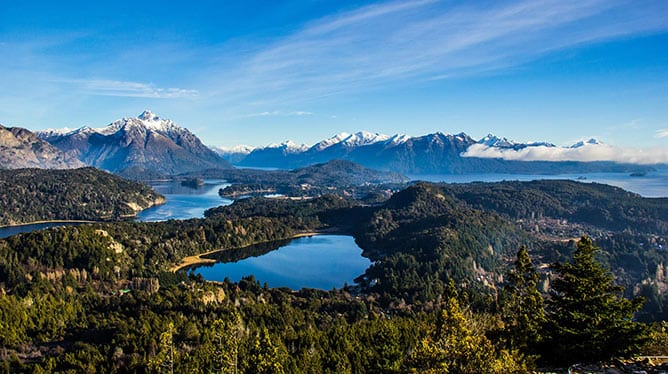 South-American-Odyssey_Day-6_Argentina_Bariloche_View-of-Nahuel-Huapi-Lake-from-Campanario