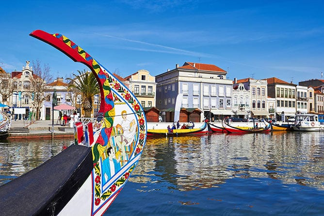 Treasures-of-Portugal_Day-4_Aveiro_Barcos-Moliceiro-Boat
